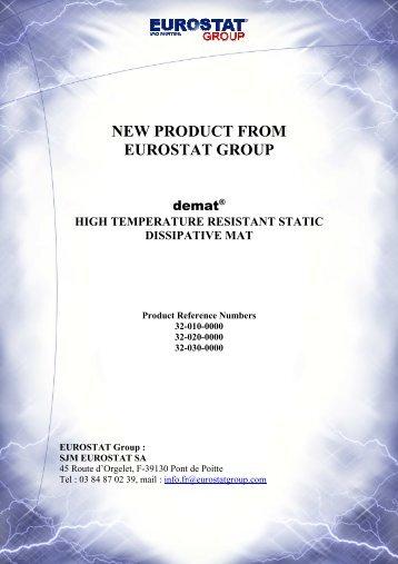 Eurostat demat - Eurostat Group