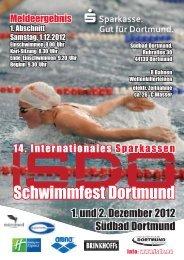 Meldeergebnis ISDO 12 2012 - SGS Münster