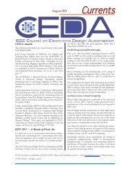 July 2011 - IEEE Council on Electronic Design Automation
