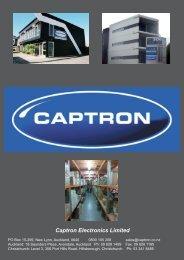 2012 Product Profile - Captron Electronics Limited