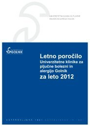 Letno poročilo 2012 (.pdf) - Bolnišnica Golnik