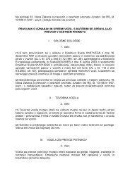 Na podlagi 33. člena Zakona o prevozih v cestnem prometu (Uradni ...