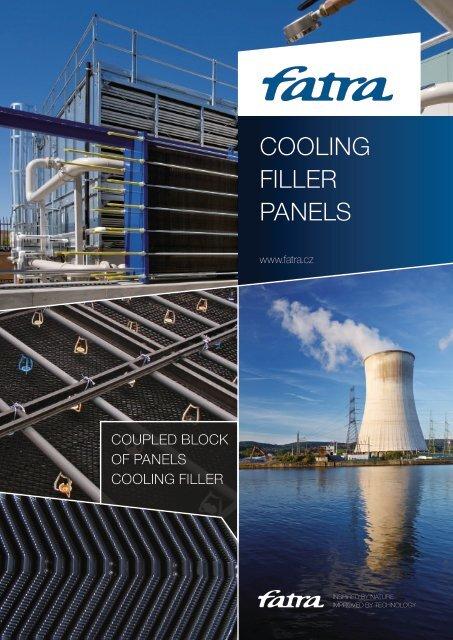 Cooling filler panels - Fatra