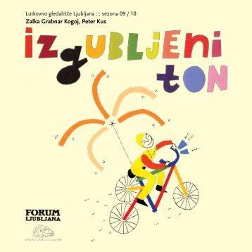 Playbill - Ljubljana Puppet Theatre