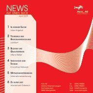 Newsletter April 2009 - Wirtschaft Harz