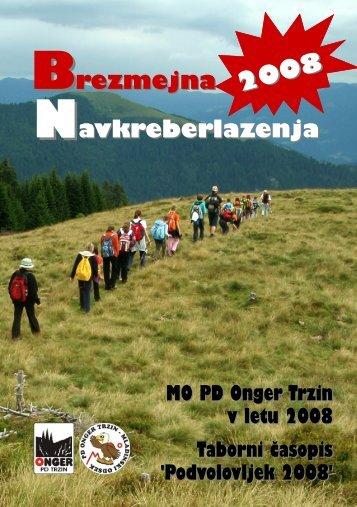 NEWS - Planinsko društvo Onger Trzin