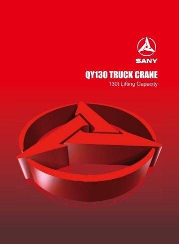 QY130 TRUCK CRANE - Lectura SPECS