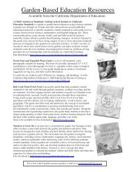 Free School Garden Resources from the CDE.pdf - California ...
