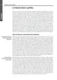 6. Fiskalni tokovi i politika
