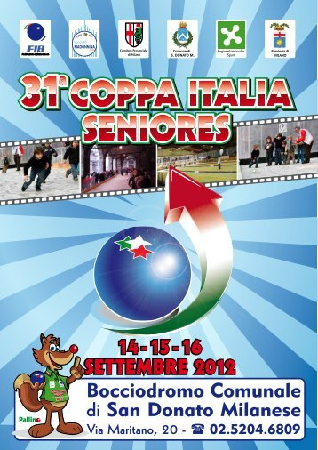 Coppa Italia Seniores - Milano 1° Comitato Classificato
