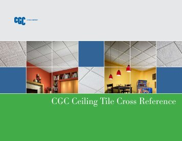 CGC Ceiling Tile Cross Reference