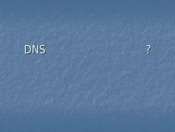 DNS逆引き登録は必要か? - JANOG