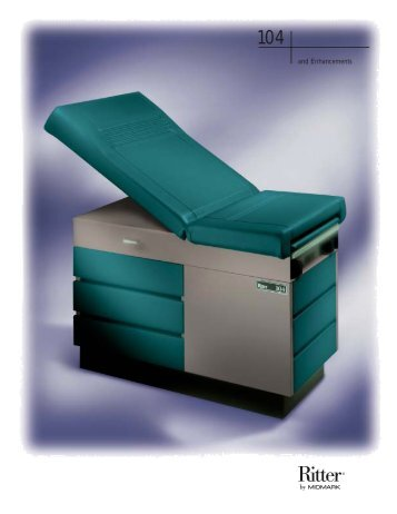 Exam Table, Midmark Ritter 104 - Infolab