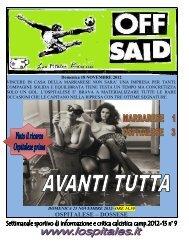 n.9 Avanti tutta - lospitales