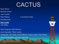 CACTUS Preliminary - particle.cz