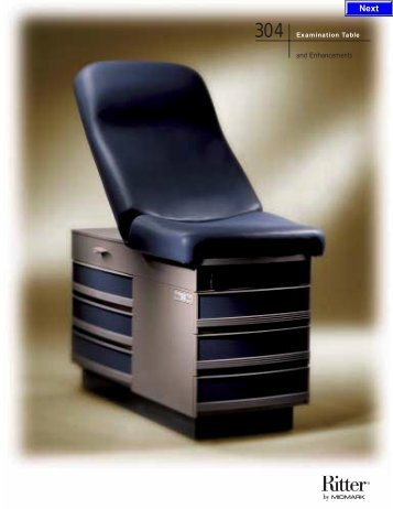 Exam Table, Midmark Ritter 304 - Infolab