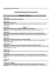 Casa da Cultura de Barreiras. 08/12/2009 – Terça Feira 7:30 - 8:30 ...