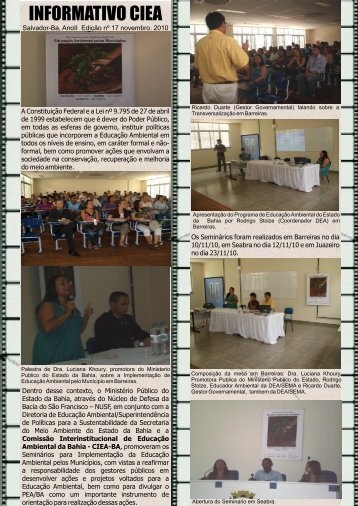 INFORMATIVO CIEA - SEMA - Secretaria do Meio Ambiente
