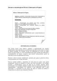Elaboração de Projetos - SEMA - Secretaria do Meio Ambiente