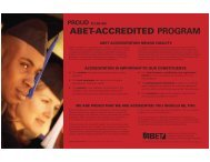 View a low-resolution version of the poster (PDF). - ABET