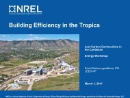 Building Efficiency in the Tropics - Energy Development in Island ...
