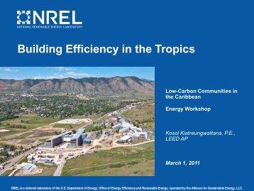 Building Efficiency in the Tropics - Energy Development in Island ...
