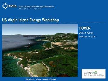 homer - Energy Development in Island Nations