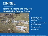 PowerPoint slides - Energy Development in Island Nations