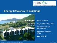 Energy Efficiency in Buildings - Energy Development in Island Nations