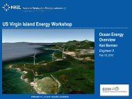 Ocean Energy Overview - Energy Development in Island Nations