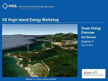 Ocean Energy Overview - Energy Development in Island Nations