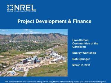 Project Development & Finance - Energy Development in Island ...