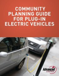 community planning guide for plug-in electric vehicles - PEV ...
