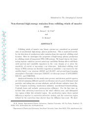 Non-thermal high-energy emission from colliding winds of massive ...