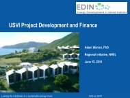 USVI Project Development & Finance