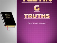 TESTING TRUTHS - Good News Gospel Explosion