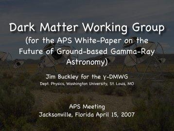 Dark matter - Gamma Ray Astronomy
