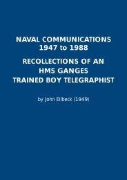 NAVAL COMMUNICATIONS 1947 to 1988 ... - Godfreydykes.info