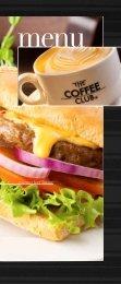gourmet beef burger - The Coffee Club