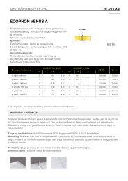 Produktdata/FDV Ecophon Venus A - Glava