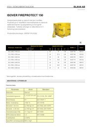 ISOVER FIREPROTECT 150 - Glava