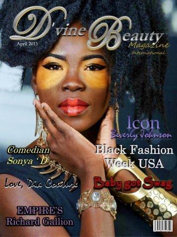 D'vine Beauty Magazine- April 2015 Issue