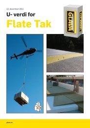 U- verdi for Flate Tak - Glava