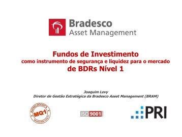 Fundos de Investimento de BDRs Nível 1 - Bradesco Asset ...