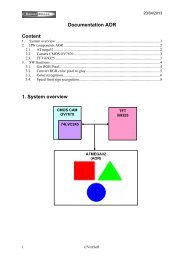 Documentation AOR Content 1. System overview