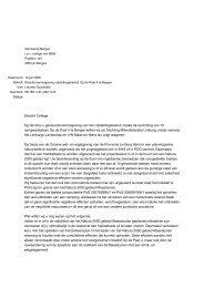 Reactie SML camperplaatsen Op de Paal Bergen - Milieufederatie ...