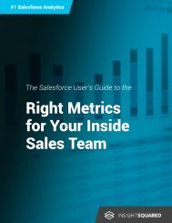 Right Metrics for Your Inside Sales Team