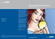 Skin Care CoSMetiC ingredientS - Coptis