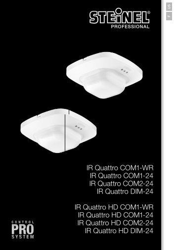 PC IR Quattro COM-WR_USA_03-07-13_ENU-FRA.indd - STEINEL
