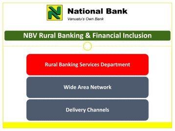 National Bank of Vanuatu - Microfinance Pasifika